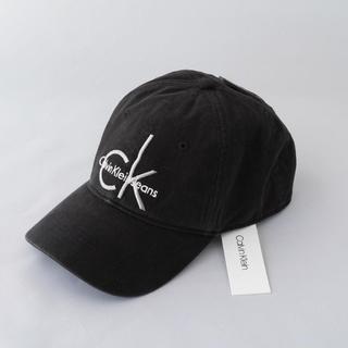 カルバンクライン(Calvin Klein)のCALVIN KLEIN カルバン クライン BLACKデニムキャップ(キャップ)