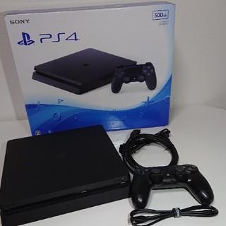 PlayStation4 - 「PlayStation®4 ジェット・ブラック 500GB CUH-2000A