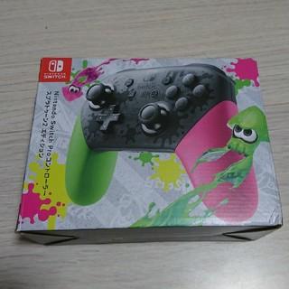 Nintendo Switch - 任天堂Switch 純正 Proコントローラー スプラトゥーン プロコン