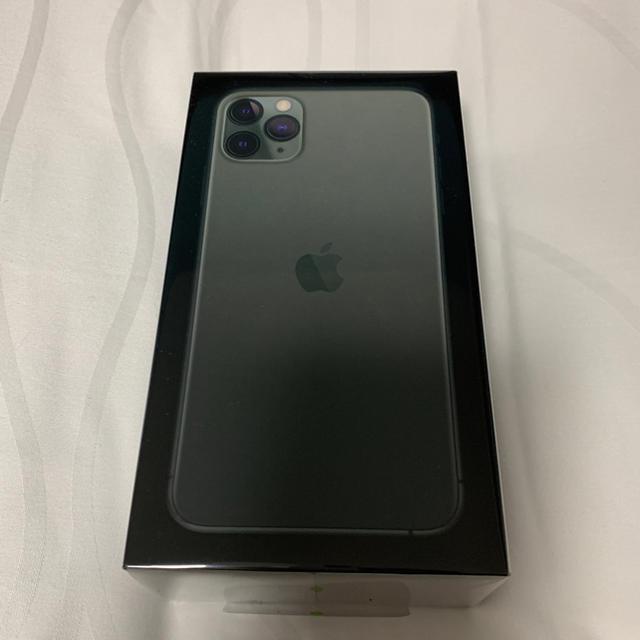 Apple(アップル)の残1希少 iPhone11pro max 256G 香港版 デュアルSIM  緑 スマホ/家電/カメラのスマートフォン/携帯電話(スマートフォン本体)の商品写真