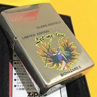 ジッポー(ZIPPO)のZIPPO 希少 バイオハザード2 クレア ビンテージ限定品(タバコグッズ)