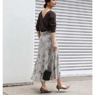 IENA - 【新品】イエナ ストライプフラワースカート