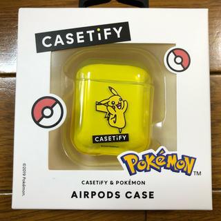 ポケモン(ポケモン)のCASETIFY Airpods Case-Pikachu ポケモン ピカチュウ(モバイルケース/カバー)