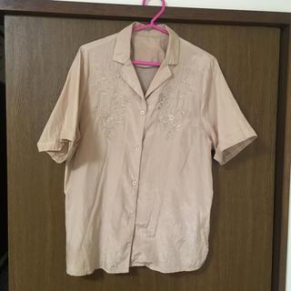 メルロー(merlot)のmerlot 開襟シャツ(シャツ/ブラウス(半袖/袖なし))