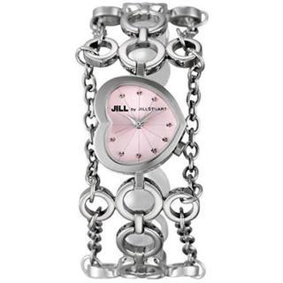 ジルスチュアート(JILLSTUART)のジルスチュアート 腕時計 VC01-5010 レディース ハート ピンク(腕時計)