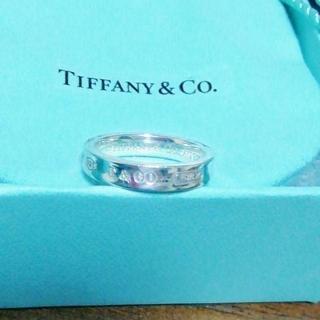 Tiffany & Co. - ☆新品☆未使用☆ティファニー 1837ナローリング10号