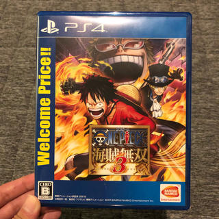 BANDAI - PS4 ONE PEACE ワンピース 海賊無双3 ゲームソフト