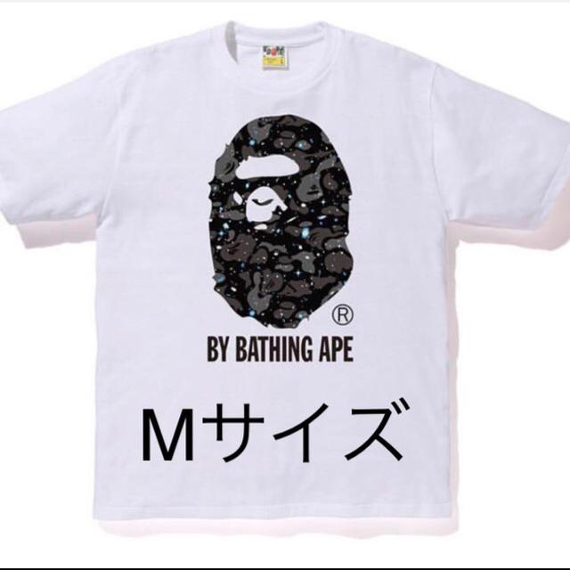 A BATHING APE(アベイシングエイプ)のBAPE 宇宙カモTシャツ Mサイズ メンズのトップス(Tシャツ/カットソー(半袖/袖なし))の商品写真