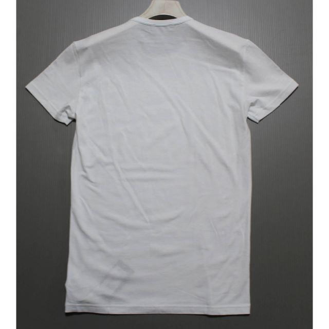 Emporio Armani(エンポリオアルマーニ)の《エンポリオアルマーニ 》新品 クルーネック カットソー 伸縮性あり Mサイズ メンズのトップス(Tシャツ/カットソー(半袖/袖なし))の商品写真