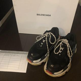 Balenciaga - BALENCIAGA triple s 42 rinkan購入