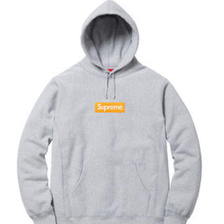 Supreme - supreme box logo hooded sweat shirts L
