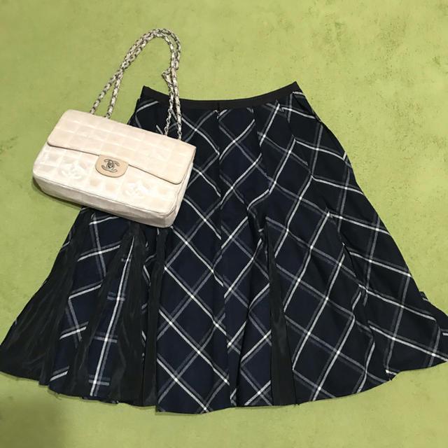 Chesty(チェスティ)のchesty 定価17820円 チェックスカート レディースのスカート(ひざ丈スカート)の商品写真