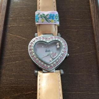 バービー(Barbie)のBarbieの人気完売品 ハートストーン 時計(腕時計)