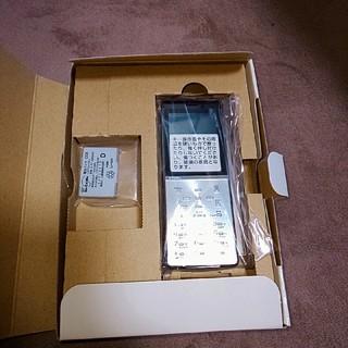 エヌティティドコモ(NTTdocomo)の新品! ドコモ D705iμ(携帯電話本体)