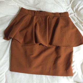 ローリーズファーム(LOWRYS FARM)のLOWRYSFARM ペプラムスカート(ミニスカート)