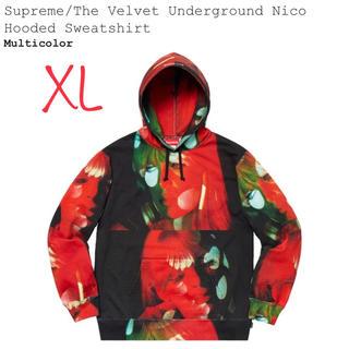 Supreme - Velvet Underground Nico Hooded Sweatshir