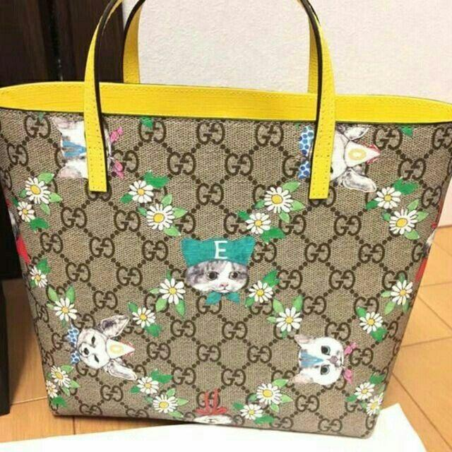 Gucci(グッチ)のグッチ ヒグチユウコ コラボバッグ レディースのバッグ(トートバッグ)の商品写真