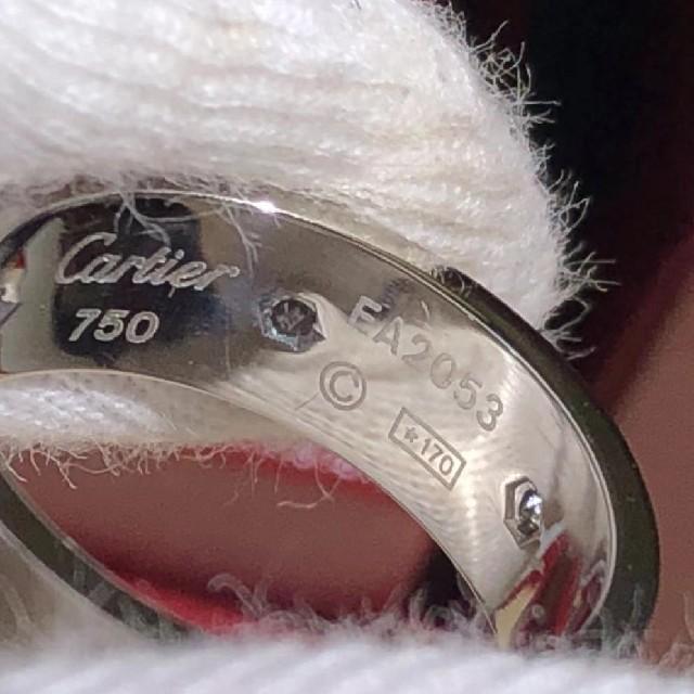 Cartier(カルティエ)のカルティエ ラブリング フルダイヤ 12号 レディースのアクセサリー(リング(指輪))の商品写真