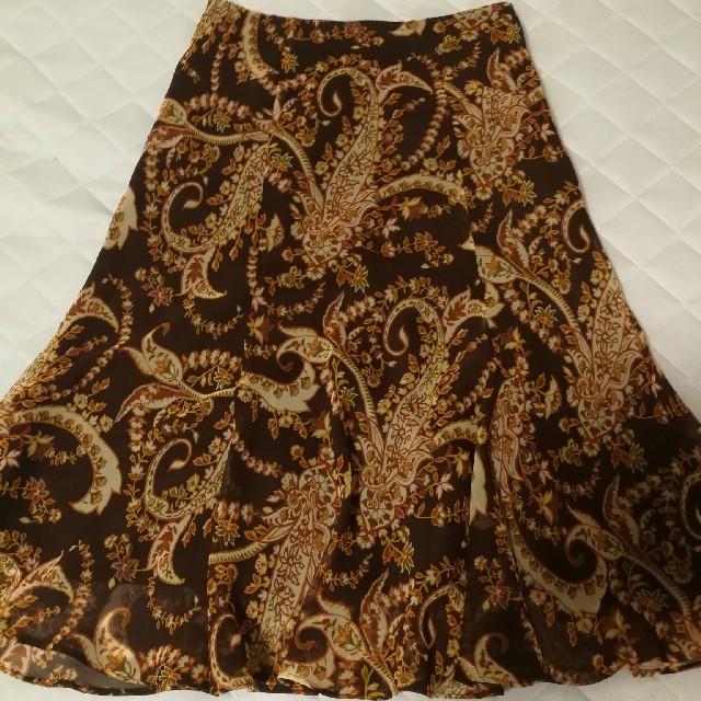 23区(ニジュウサンク)のスカート 茶色 23区 レディースのスカート(ひざ丈スカート)の商品写真