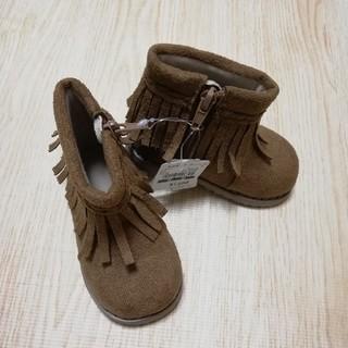 ニシマツヤ(西松屋)の【新品未使用】ミネトンカ ブーツ 13センチ(ブーツ)