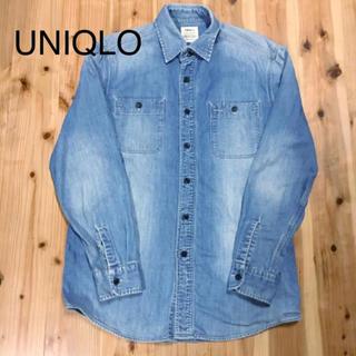 ユニクロ(UNIQLO)のUNIQLO ユニクロ デニムシャツ メンズ(シャツ)