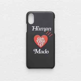 Supreme - HUMAN MADE × Girls don't cry iPhone ケース