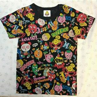 HYSTERIC MINI - 【美品】HYSTERIC MINI 半袖Tシャツ 90 黒 オーケストラ