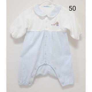 familiar - 【美品】カバーオール 50 ファミリア