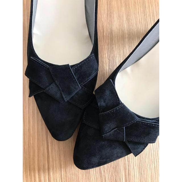 ORiental TRaffic(オリエンタルトラフィック)の【新品】オリエンタルトラフィック リボンパンプス    41 25.0 25.5 レディースの靴/シューズ(ハイヒール/パンプス)の商品写真