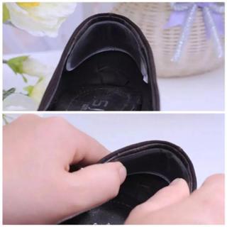 靴擦れ防止 靴擦れ インソール かかと用 透明 一足分二枚入(その他)
