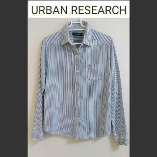 URBAN RESEARCH - URBAN RESEARCH 長袖ストライプシャツ