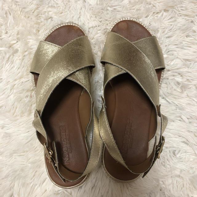 Kastane(カスタネ)の厚底サンダル レディースの靴/シューズ(サンダル)の商品写真