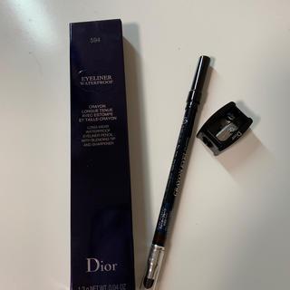 ディオール(Dior)のディオール クレヨンアイライナー ウォータープルーフ 594(アイライナー)