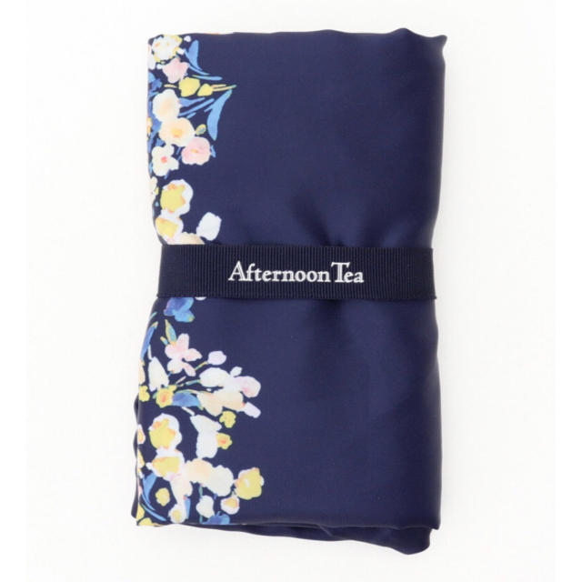 AfternoonTea(アフタヌーンティー)のフラワー柄ショッピングバッグ Afternoon Tea レディースのバッグ(エコバッグ)の商品写真