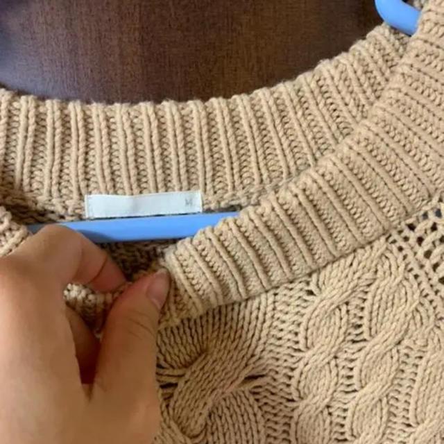 GU(ジーユー)のニット レディースのトップス(ニット/セーター)の商品写真