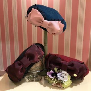 ルルゲッタ(Leur Getter)の チュール&グログランリボンベレー(ハンチング/ベレー帽)