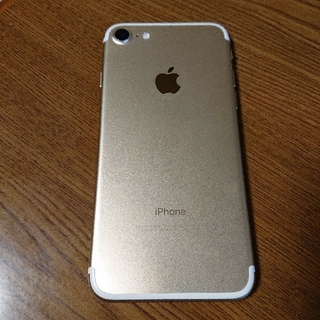iPhone - iPhone7 128GB ゴールド