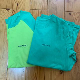 モンベル(mont bell)のモンベル 長袖Tシャツ レディース 2枚組(Tシャツ(長袖/七分))
