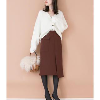 アーバンリサーチ(URBAN RESEARCH)の新品❤️アーバンリサーチ スリットタイトスカート(ひざ丈スカート)