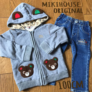 mikihouse - [美品]MIKIHOUSE ミキハウス  パーカー  プッチー