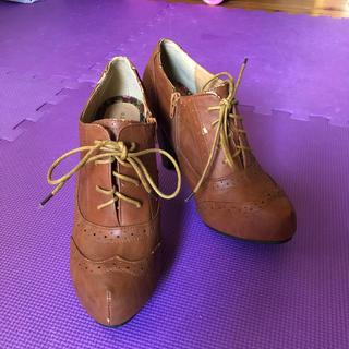 4L ブラウン ブーツ(ブーツ)