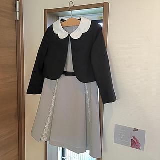 プティマイン(petit main)のpetit main 卒園 入学式用セレモニースーツ(サイズ:130)(ドレス/フォーマル)