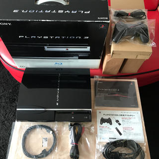 プレイステーション3(PlayStation3)の【レア商品】箱付き PS3本体CECHA00 60GB ●初期型最上位機種(家庭用ゲーム機本体)