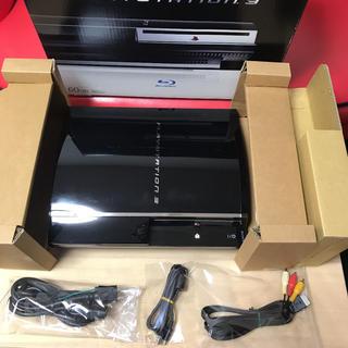 プレイステーション3(PlayStation3)の【レア商品】【箱付き】PS3 CECHA00 60GB 初期型最上機種☆(家庭用ゲーム機本体)
