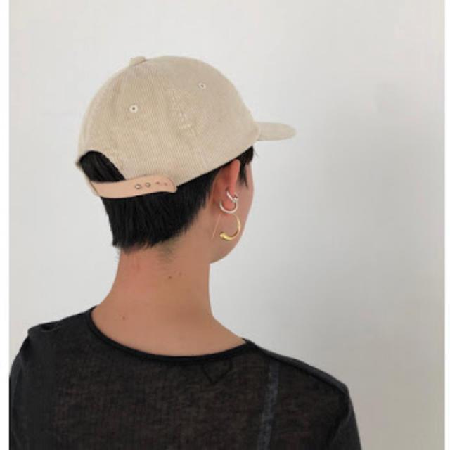 TODAYFUL(トゥデイフル)の新品未使用 トゥデイフル コーデュロイ キャップ レディースの帽子(キャップ)の商品写真