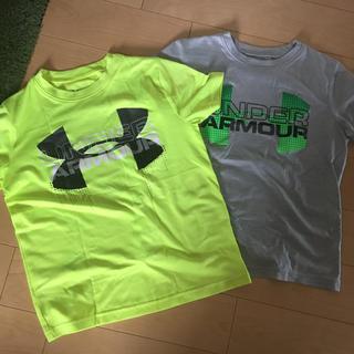 アンダーアーマー(UNDER ARMOUR)のUNDER ARMOUR YSM Tシャツ2枚 アンダーアーマー(Tシャツ/カットソー)