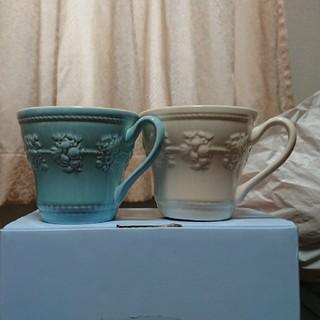 ウェッジウッド(WEDGWOOD)のWedgwood ペアカップ(グラス/カップ)