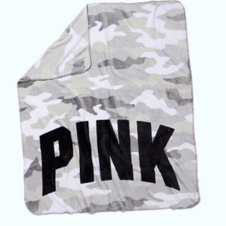 ヴィクトリアズシークレット(Victoria's Secret)の起毛ありブランケット VS PINK 非売品 新品未使用(その他)