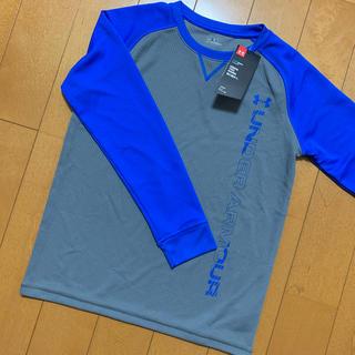 アンダーアーマー(UNDER ARMOUR)のアンダーアーマー ジュニア  YLG 150 UAワッフルクルー(Tシャツ/カットソー)