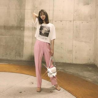 LE CIEL BLEU - 野崎萌香さん着用 ルシェルブルー ピンク パンツ
